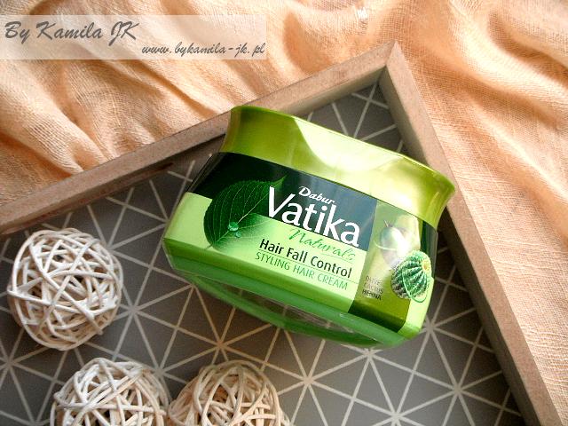 Dabur Vatika krem do stylizacji włosów przed myciem z kaktusem migdałami henną oliwkami indyjskie kosmetyki