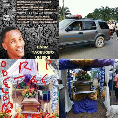 Tagbo's Brother Speaks on Davido's Absence at Brother's Burial in Anambra-HOLYKEY1.COM