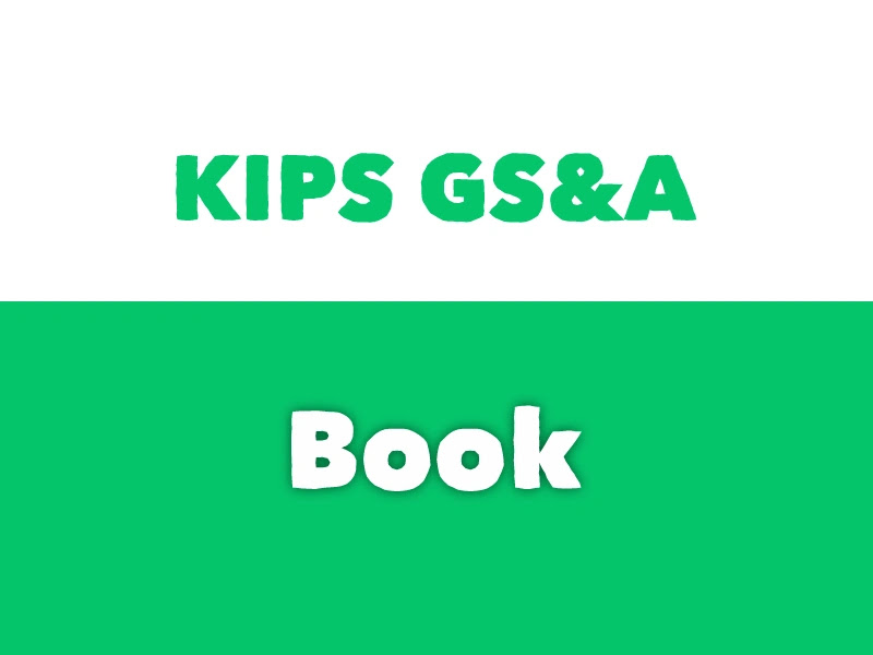 KIPS General Science and Ability book pdf download