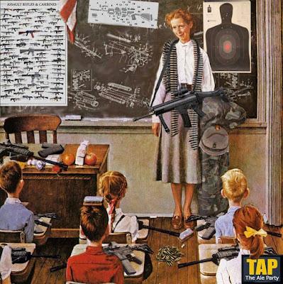 Armed teachers.
