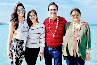 Kriti Sanon With Her Family Photo 1