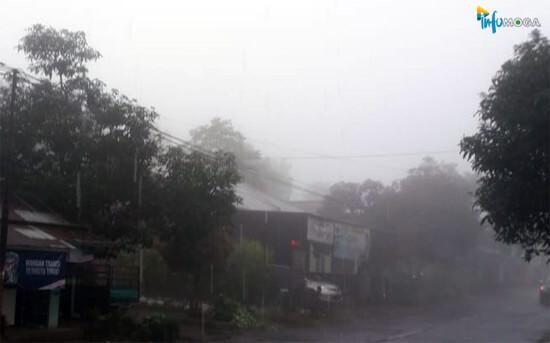 Wilayah Pemalang Bagian Selatan Berpotensi Diguyur Hujan Lebat Sore Nanti