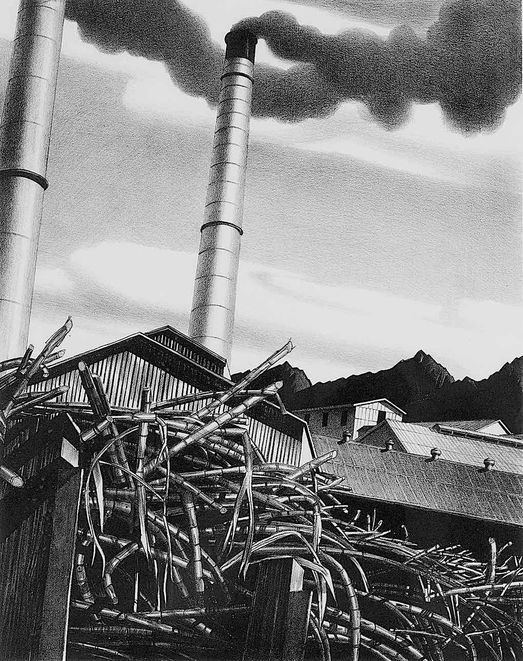 Stow Wengenroth, a factory