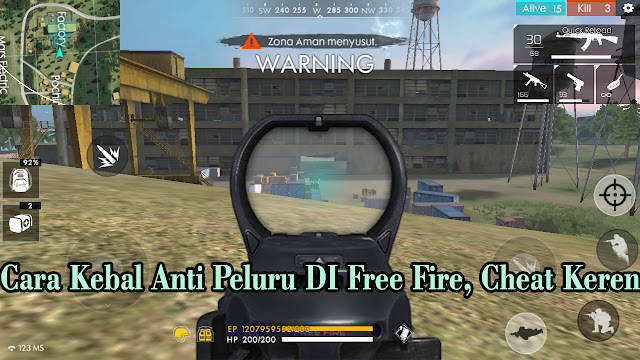 Cara Kebal Anti Peluru DI Free Fire, Cheat Keren