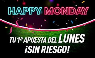 Cyber Monday sportium Happy Monday apuesta sin riesgo 30-11-2020