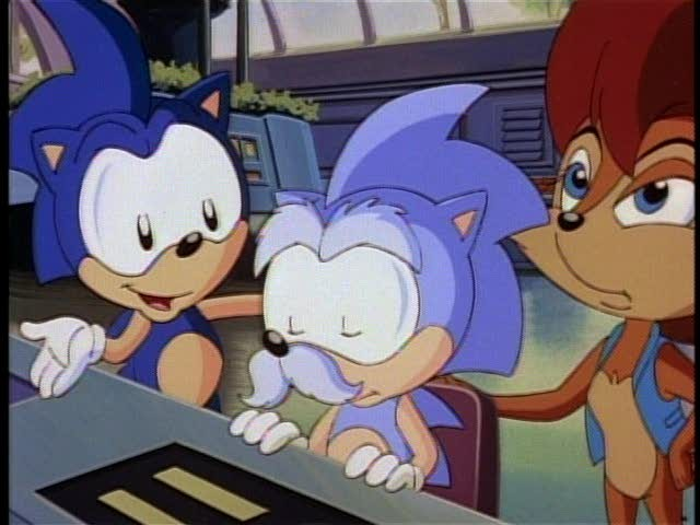 Hedgehogs Can T Swim Sonic The Hedgehog 1993 Episode 2 04 Blast To The Past Part 1