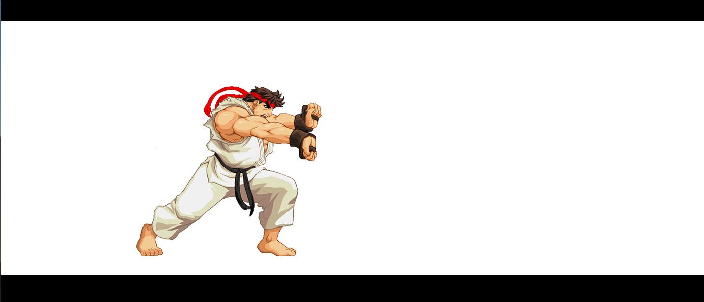 street fighter ryu hadouken gif
