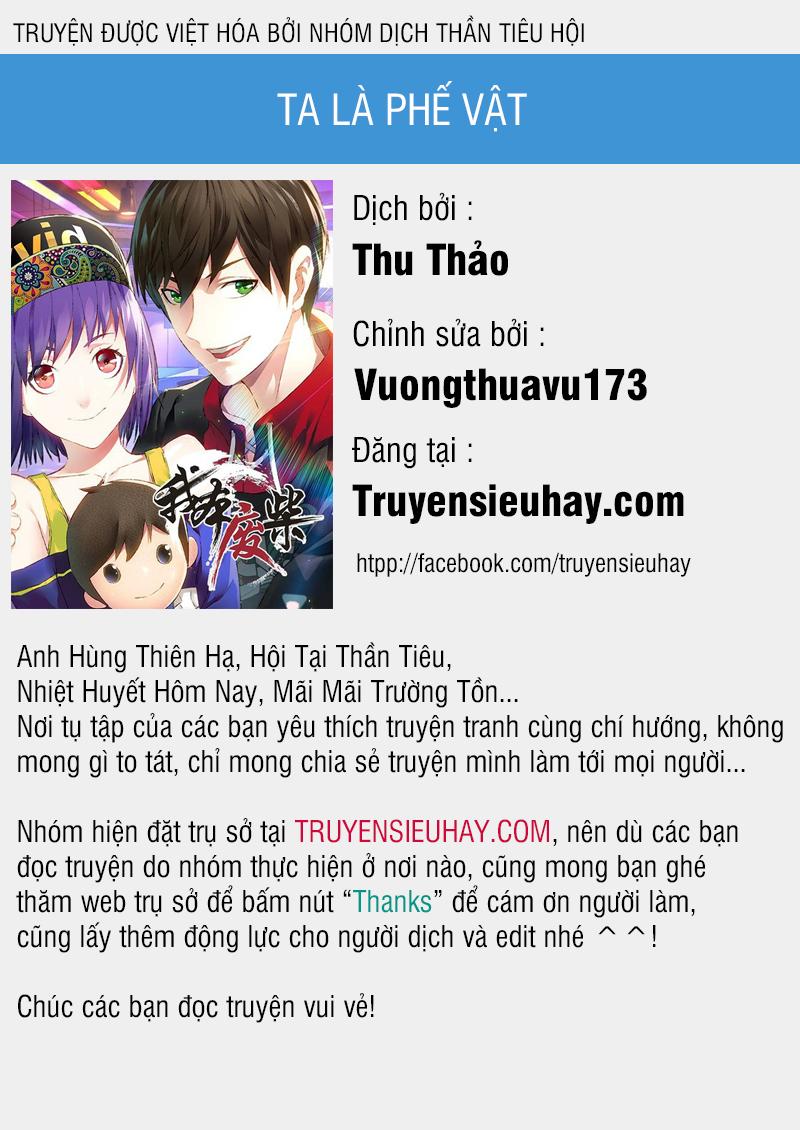 Ta Là Phế Vật Chapter 120 video - Hamtruyen.vn