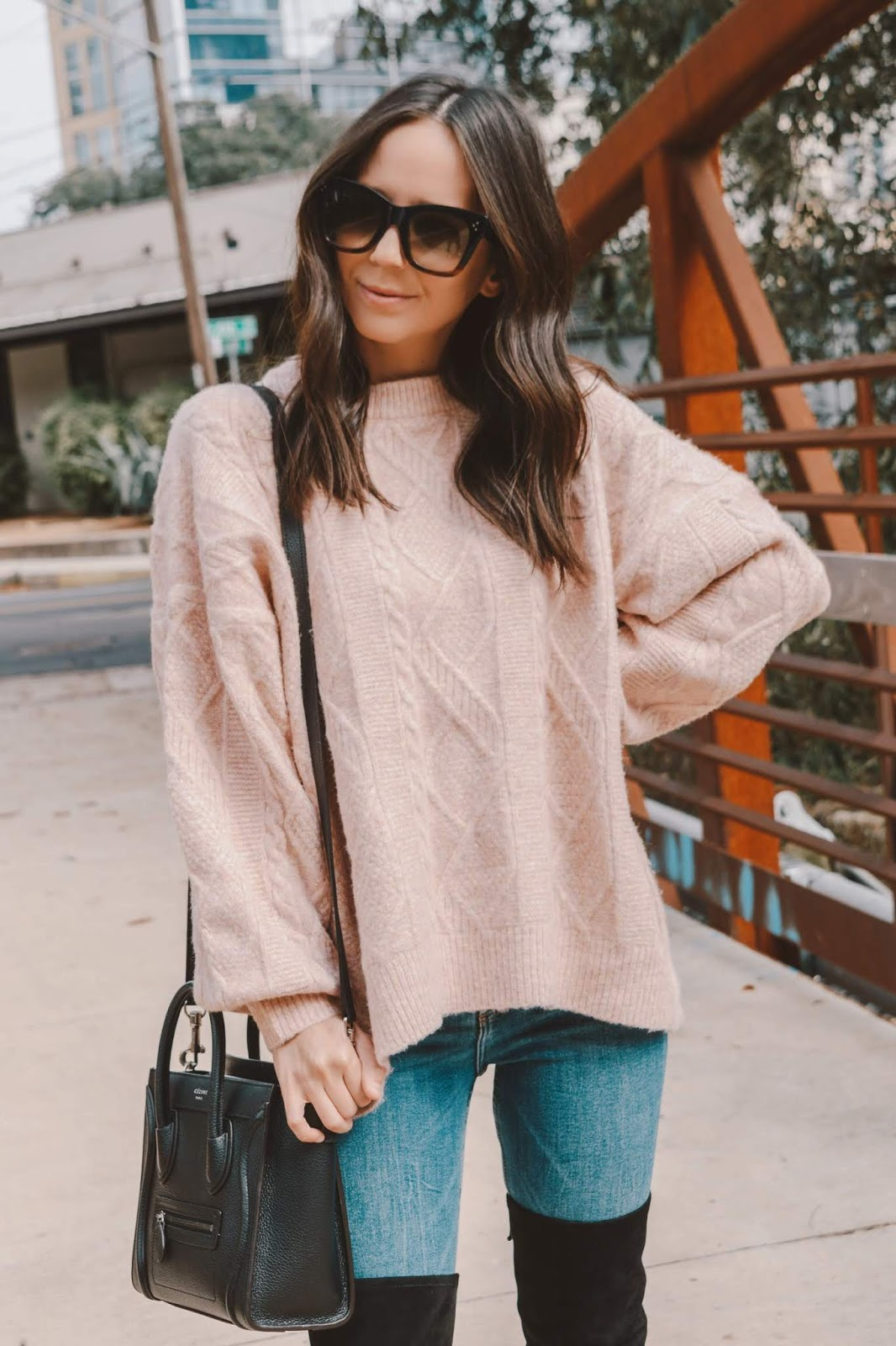 Cozy oversized sweater for winter