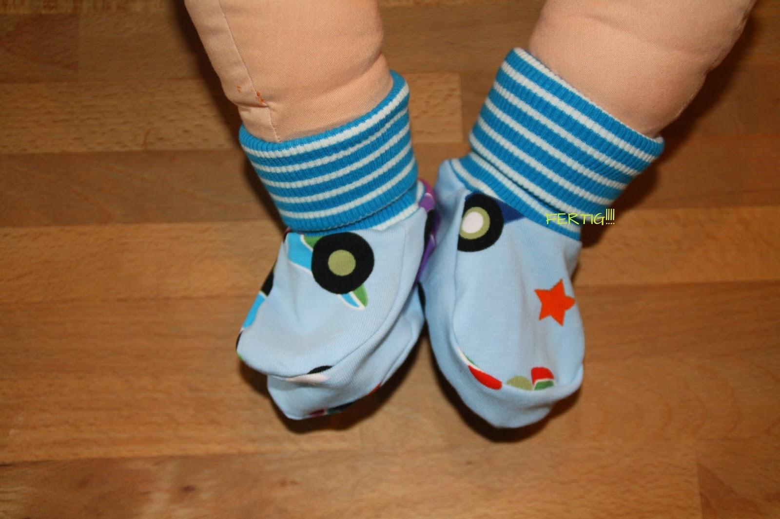 MargaretesHandmadeBox: Baby Schuhe 365 Tage Sew Along