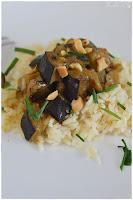 Guiso de berenjena- receta de curry de berenjena