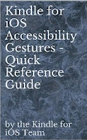Kindle for iOS Accessibility Gestures - Quick Reference Guide