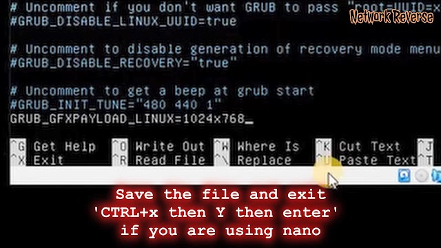 Add GRUB_GFXPAYLOAD_LINUX parameter