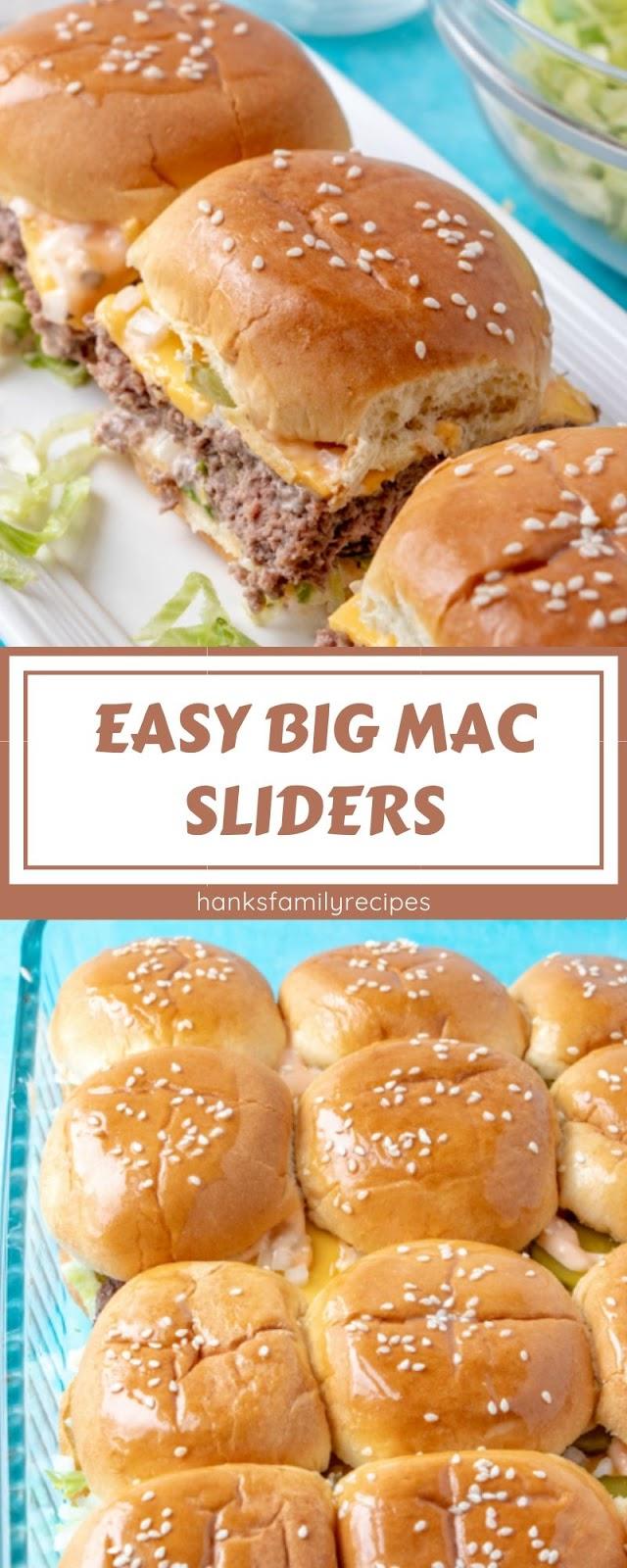 EASY BIG MAC SLIDERS
