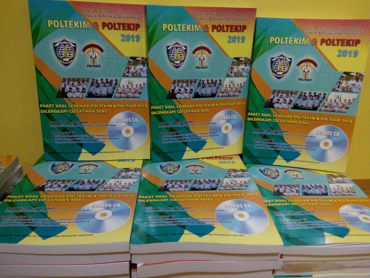 buku soal catar poltekip poltekim kemenkumham kedinasan soal dan pembahasan, Buku Poltekim & Buku Poltekip 2019