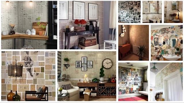 Διαδικασία - Οδηγίες - Ιδέες για Decoupage σε ...Τοίχους