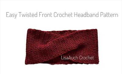 Easy Twist Front Crochet PAttern FREE