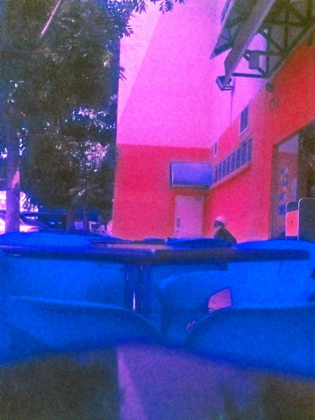 Images On Expired Film, Surreal Colors 04
