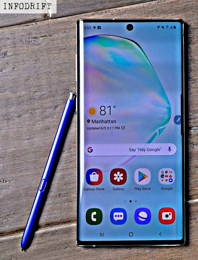 Samsung Galaxy Note 10: see here the price, all the specifications & special features which includes 8GB RAM, iris scanner and many more