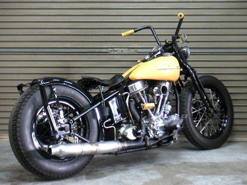 Harley Davidson Panhead By Sure Shot Hell Kustom