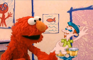 The bongo player's hands hit the bungle drums 20 times. Sesame Street Elmo's World Hands Elmo's Question