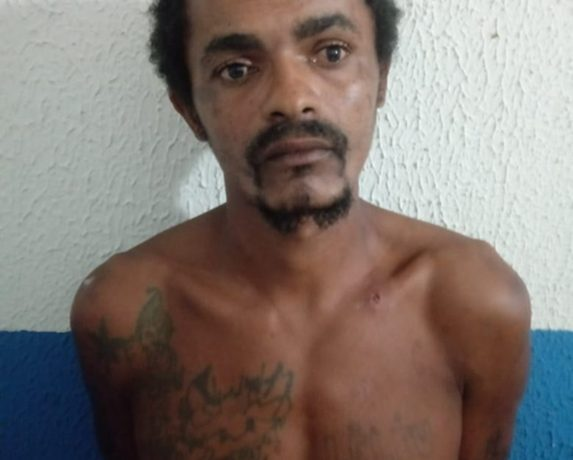 Homem é preso em flagrante após cometer homicídio em Condado