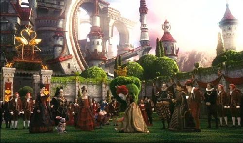 Queen Hearts castle movieloversreview.filminspector.com