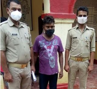 अमेठी के लतीफ को केराकत पुलिस ने किया गिरफ्तार | #NayaSaberaNetwork