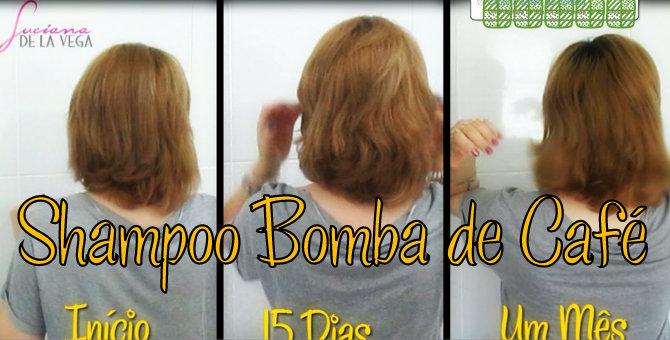 shampoo bomba,shampoo bomba de café, projeto Rapunzel