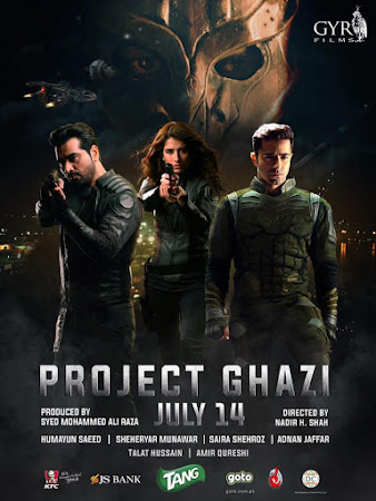 Poster Of Urdu Movie Project Ghazi 2017 Full HD Movie Free Download 720P Watch Online