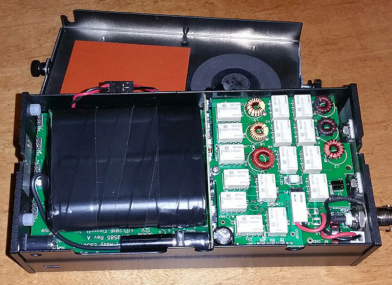 AE5X: A homebrew 3500 mAH battery for the KX2