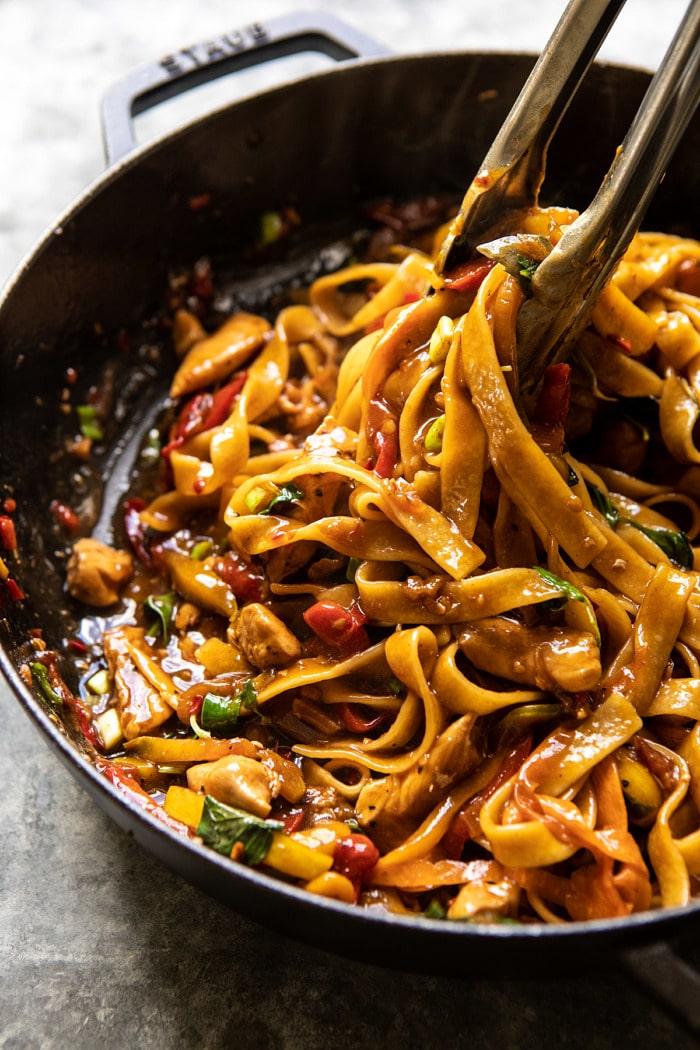 Best Thai Drunken Noodles