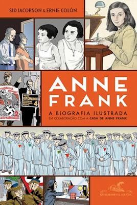 Anne Frank — A biografia ilustrada, de Sid Jacobson e Ernie Colón