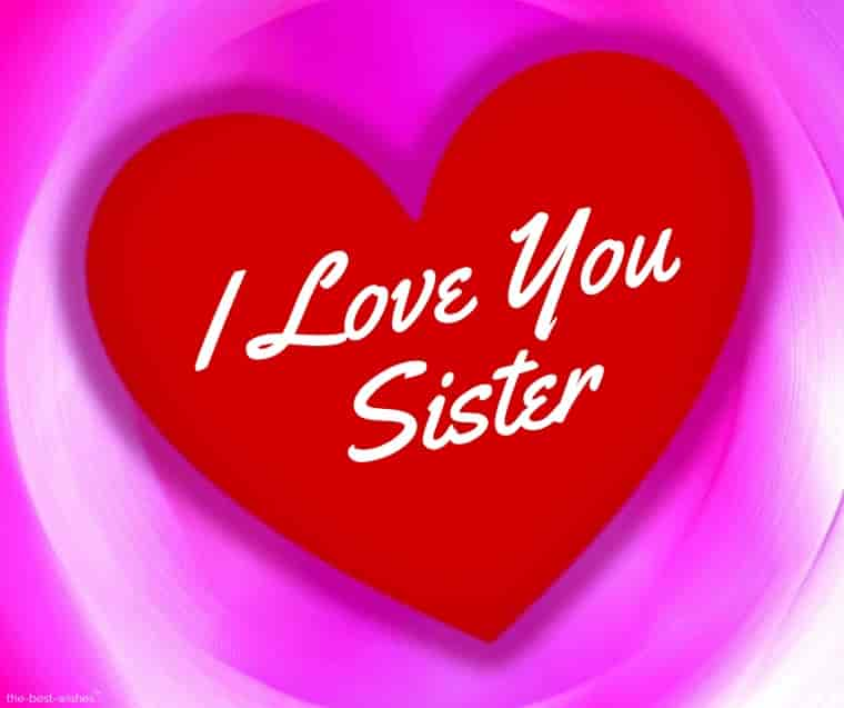 i love you sister photo