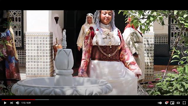 taroudant awalan: ربورتاج حول الزي التقليدي الخاص بالعروس الرودانية 'تارودانت أولا'