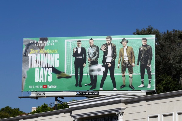 Jack Whitehall Training Days billboard