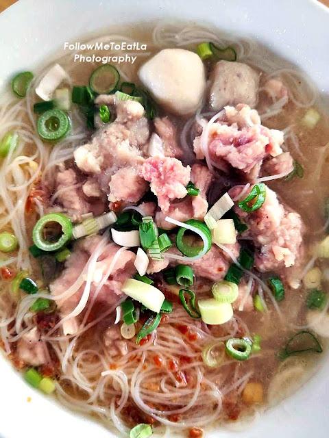 Penang Pork Noodles