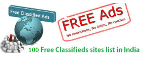 Infiblogger: Top 100 free classified sites in india