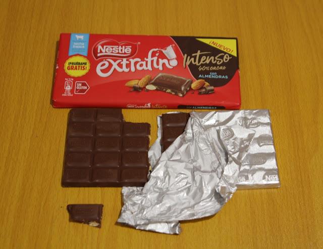 Nestlé Extrafino Intenso Almendras