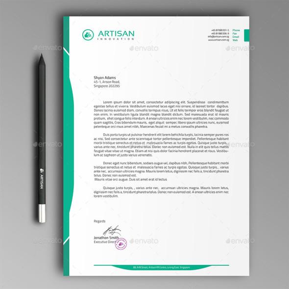 letterhead examples design - Yenimescale