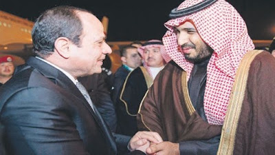 السيسي ومحمد بن سلمان