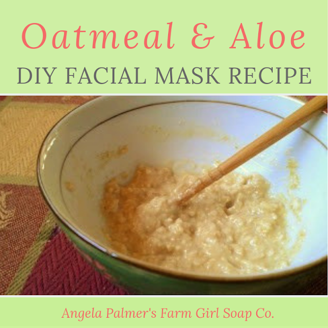 This DIY oatmeal and aloe vera facial mask recipe is the perfect anecdote to dull, dry, dehydrated, and environmentally-stressed skin. Plus, it's so easy to make. Whip up this all-natural mask in just minutes with simple ingredients you already have on-hand.