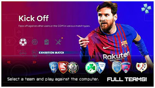 Download Final Version!! PES 2022 PPSSPP Full Promotion Teams & English Commentary