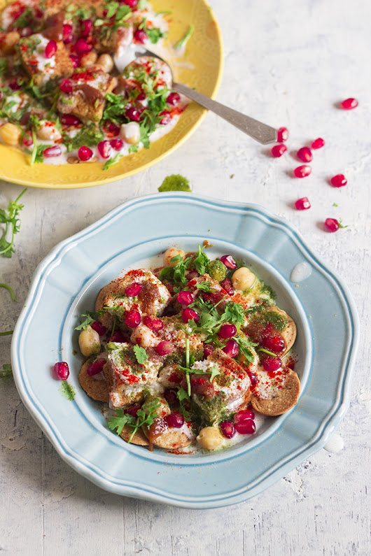 Dahi Bread Chaat Recipe