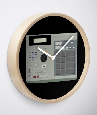 MPC 2000 XL Wall Clock by Steve Traxx