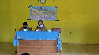 Kegiatan Musyawarah Masyarakat Desa (MMD) / Kesehatan Lingkungan (Kesling) Tahun Anggaran 2020