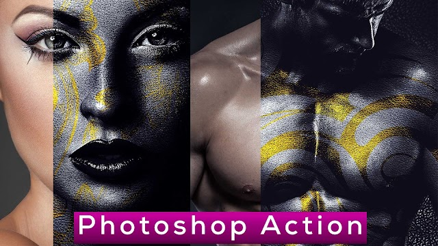 Professional Skin Art Photoshop Action Free Download | PhotoshopDream
