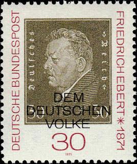 West Germany Friedrich Ebert
