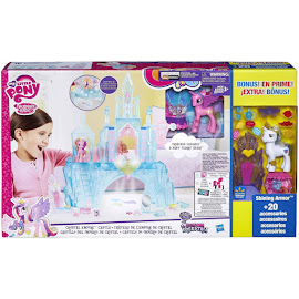My Little Pony Crystal Empire Playset with Bonus Baby Flurry Heart Brushable Pony