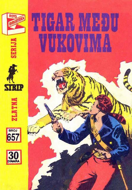 Tigar medju Vukovima - Komandant Mark